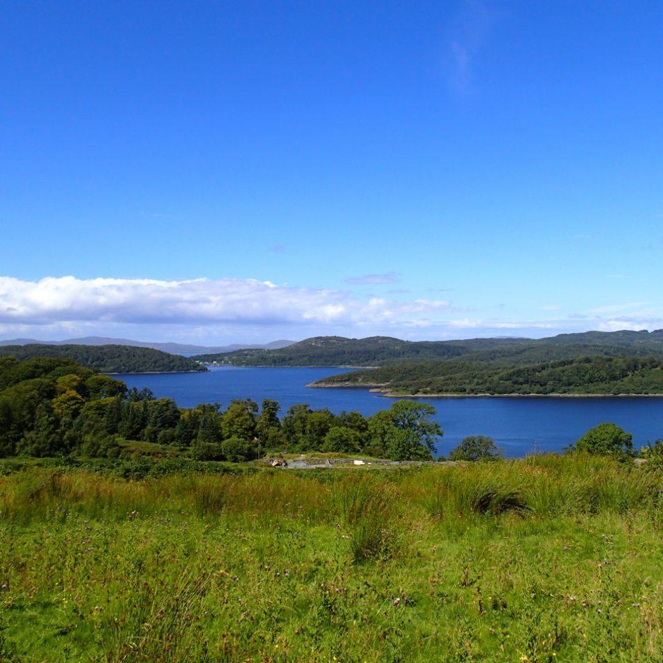 Hills above Loch Sween